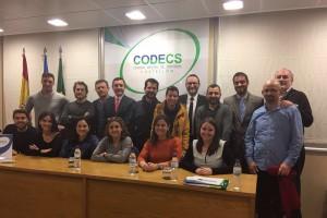 Primera sesion en la sede del CODECS