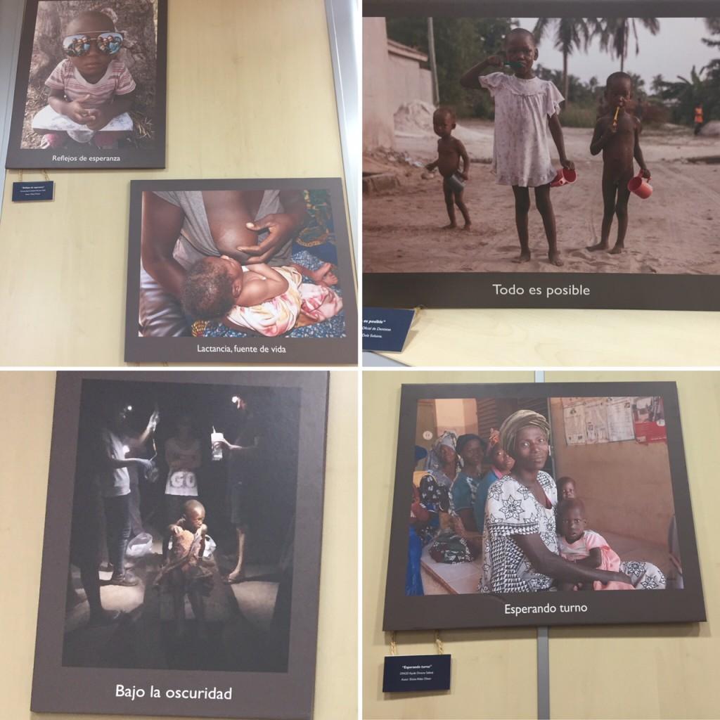 Exposición fotográfica en el salón de actos del CODECS.