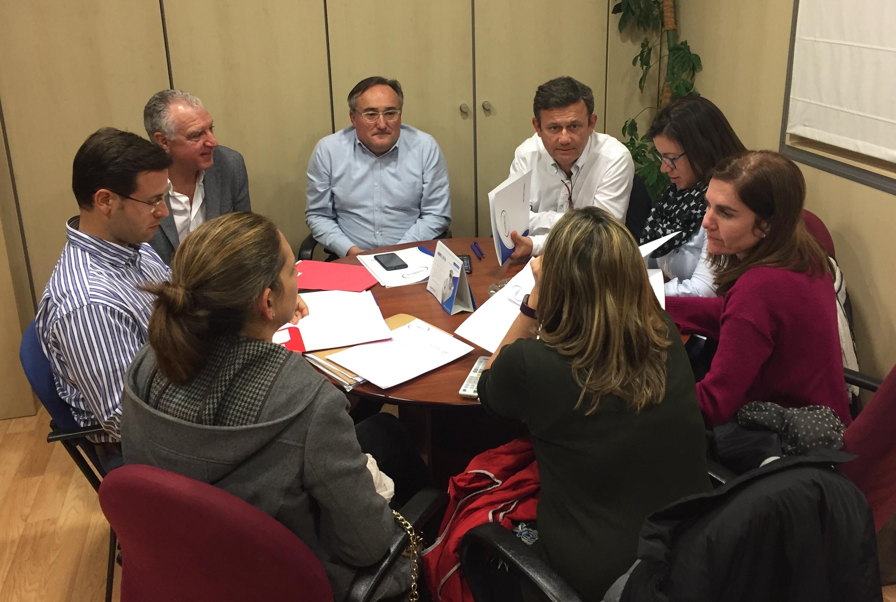 Reunión de la Junta de Gobierno del CODECS.