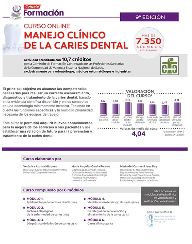 MANEJO CLÍNICO DE LA CARIES DENTAL