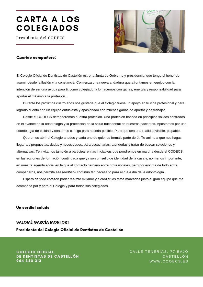 CARTA PRESIDENTA CODECS-IMAGEN